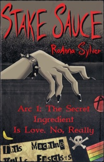 Book cover: a greyish hand with black-painted finger nails emerges from a black box.