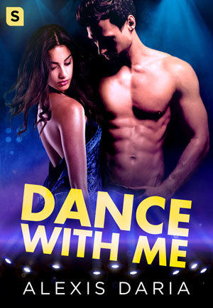 Book cover: Natasha and Dimitri pose on the dance floor
